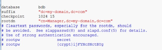 Redhat6下构建LDAP服务